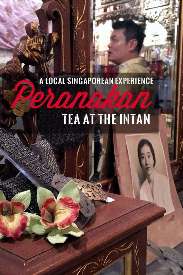 Pin it: Peranakan Tea tour experience at The Intan