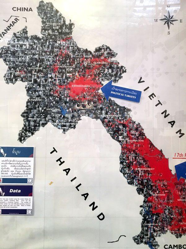 Laos Vientiane Cope Map