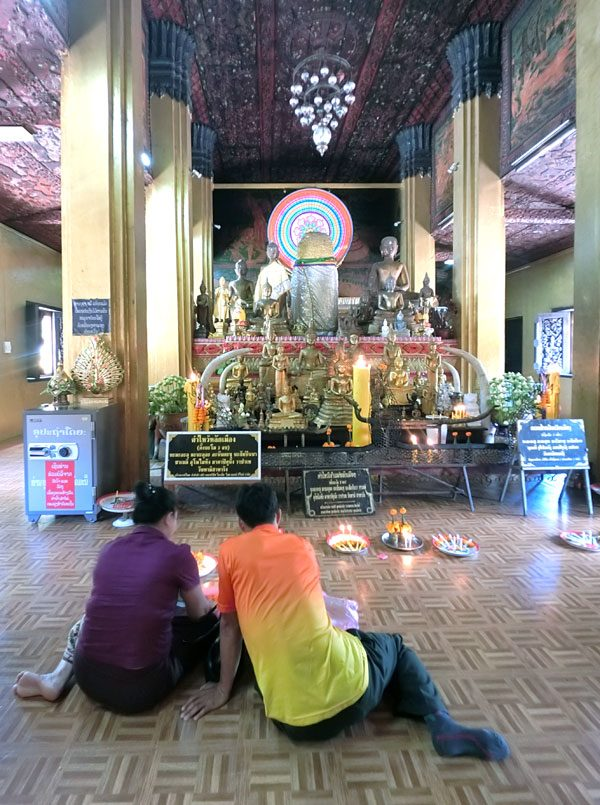 Laos Vientiane Simuang Altar