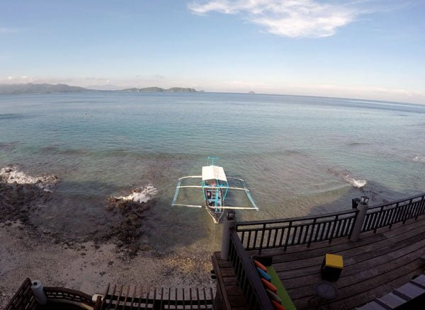 Philippines Anilao Crystal Blue Resort Shore