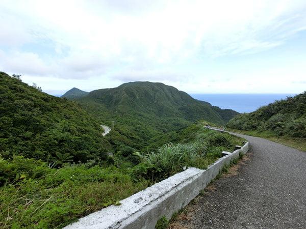 Taiwan Lanyu Weather Station Road