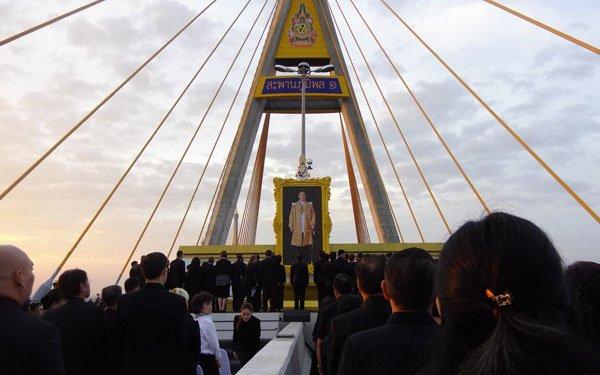 Bangkok King Bridge Ceremony