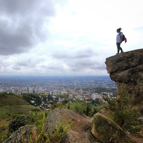 Colombia Cali Tres Cruces Rock View