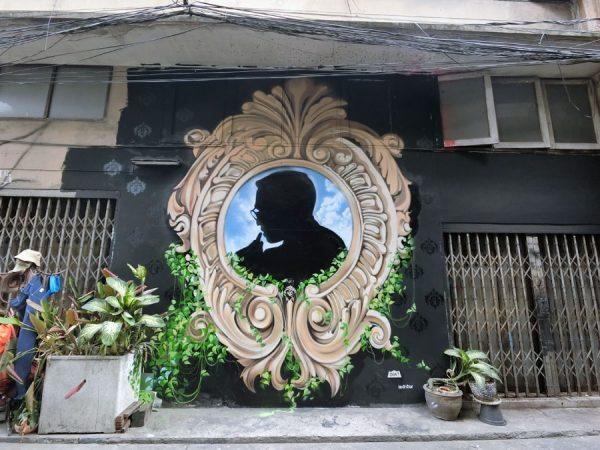 Bangkok Street Art Chalerma Park Streets 5