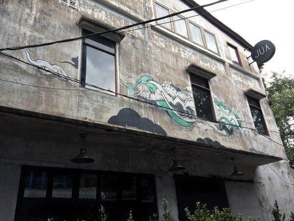 Bangkok Street Art CKR Soi 28 Cloud