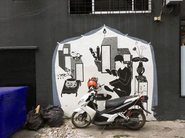 Bangkok Street Art CKR Soi 28 Daehyun