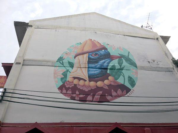 Bangkok Street Art CKR Soi 28 Saddo