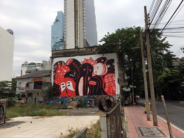 Bangkok Street Art Decho Space