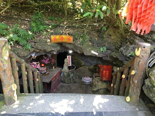 Taiwan Lyudao Guanyin Cave