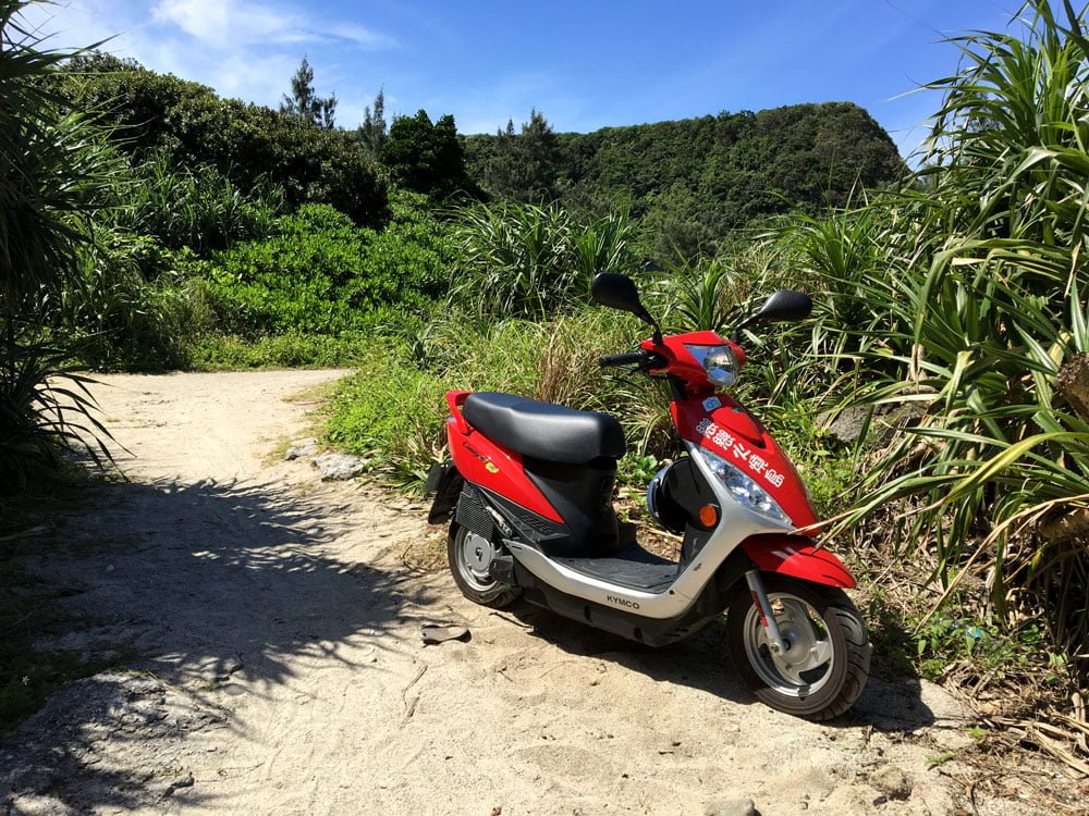 Taitung Lyudao Electric Scooter