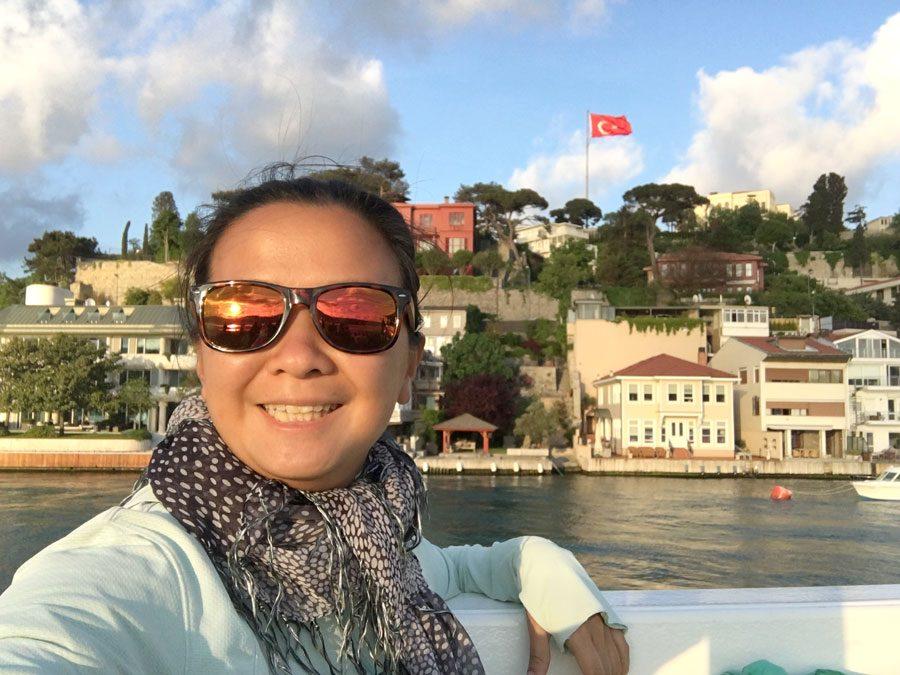 Istanbul Bosphorus River Cruise Selfie