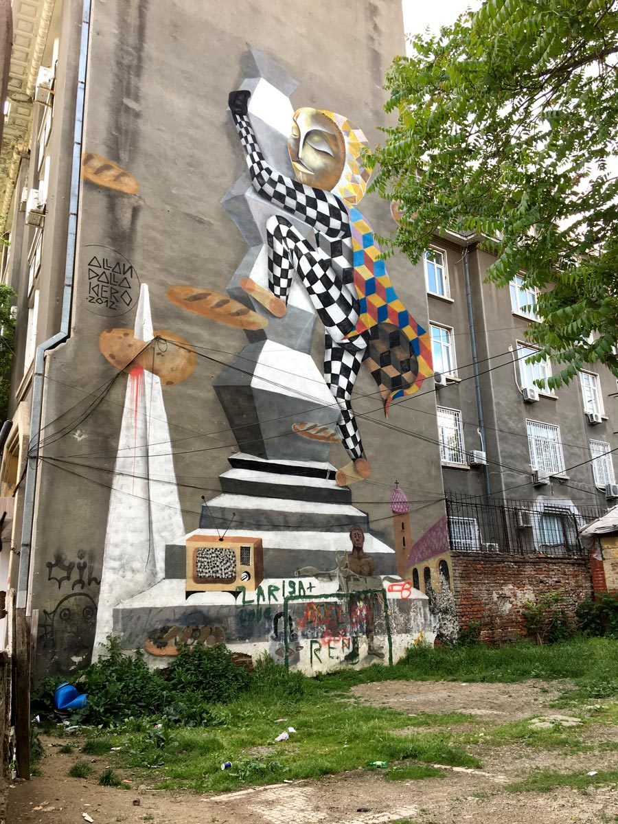 Bucharest Street Art Grivitei Kiero
