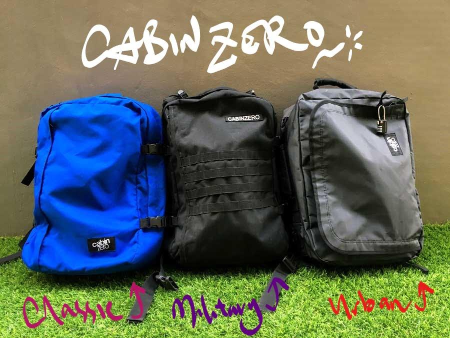 CabinZero All Lineup Scribble
