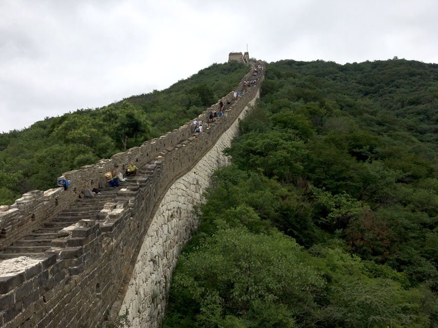 Beijing Mutianyu Great Wall Steep Stair