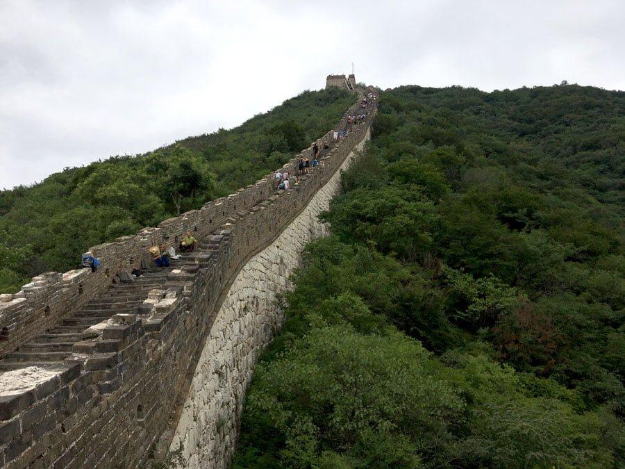 Beijing Mutianyu Great Wall Steep Stair