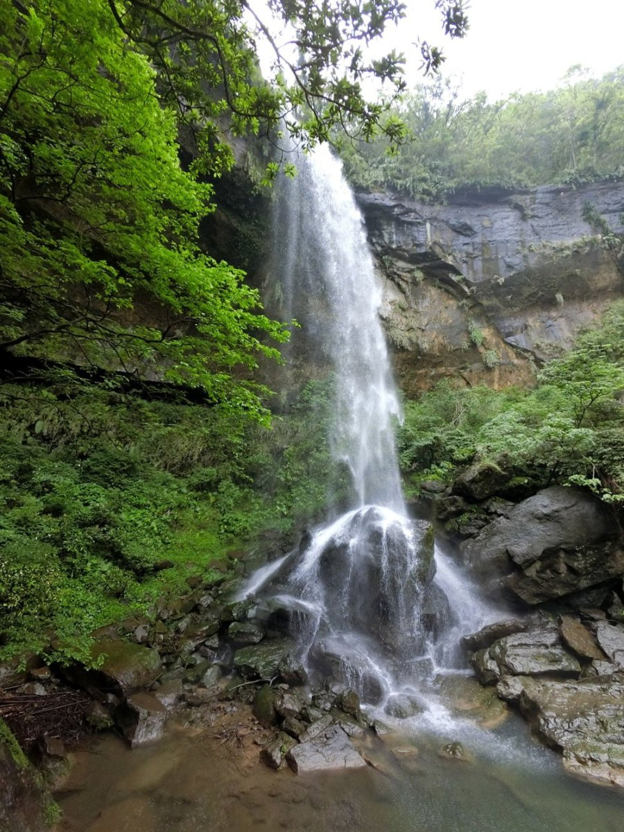 New Taipei Sandiaoling Motian Waterfall