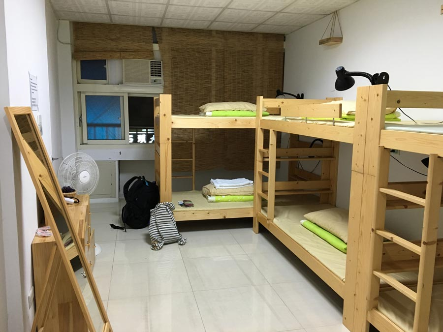 Taiwan Luodong Green Hostel Room