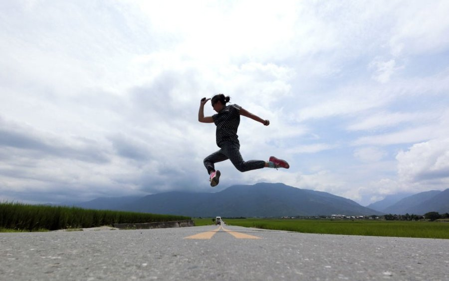 Taitung Chishang MrBrown Jumpshot