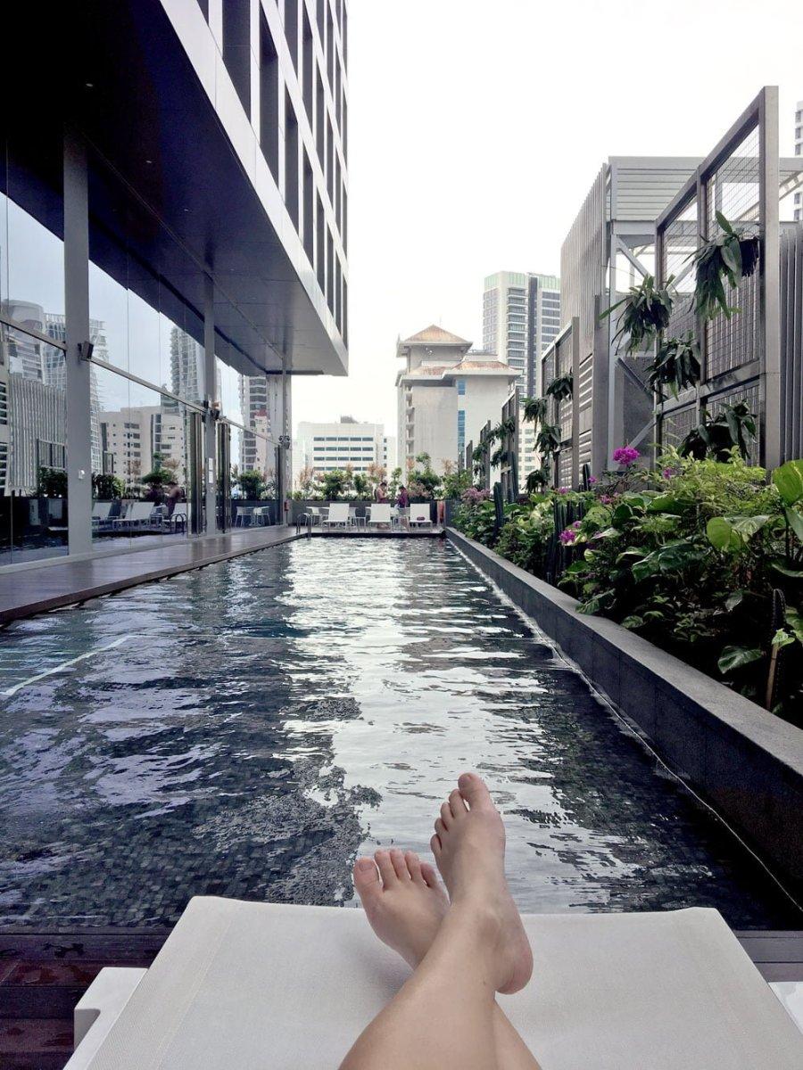 Yotel Singapore Swimming Pool