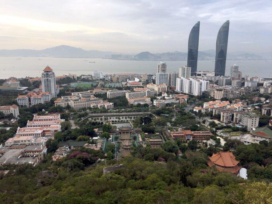 Xiamen Nanputuo Hike View