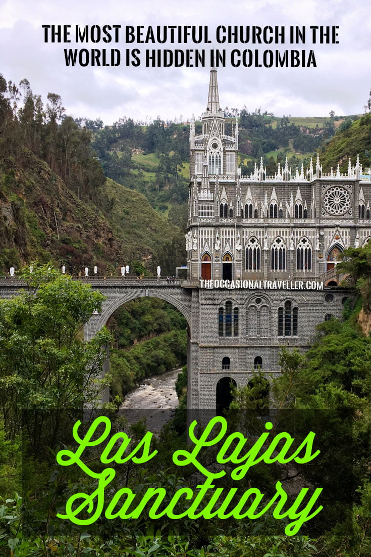 Pin it: Las Lajas Sanctuary in Ipiales, Colombia
