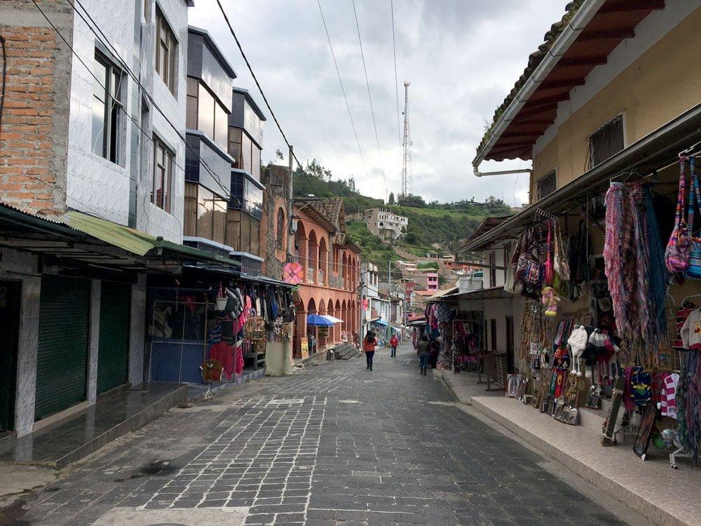 Colombia Ipiales Las Lajas Village