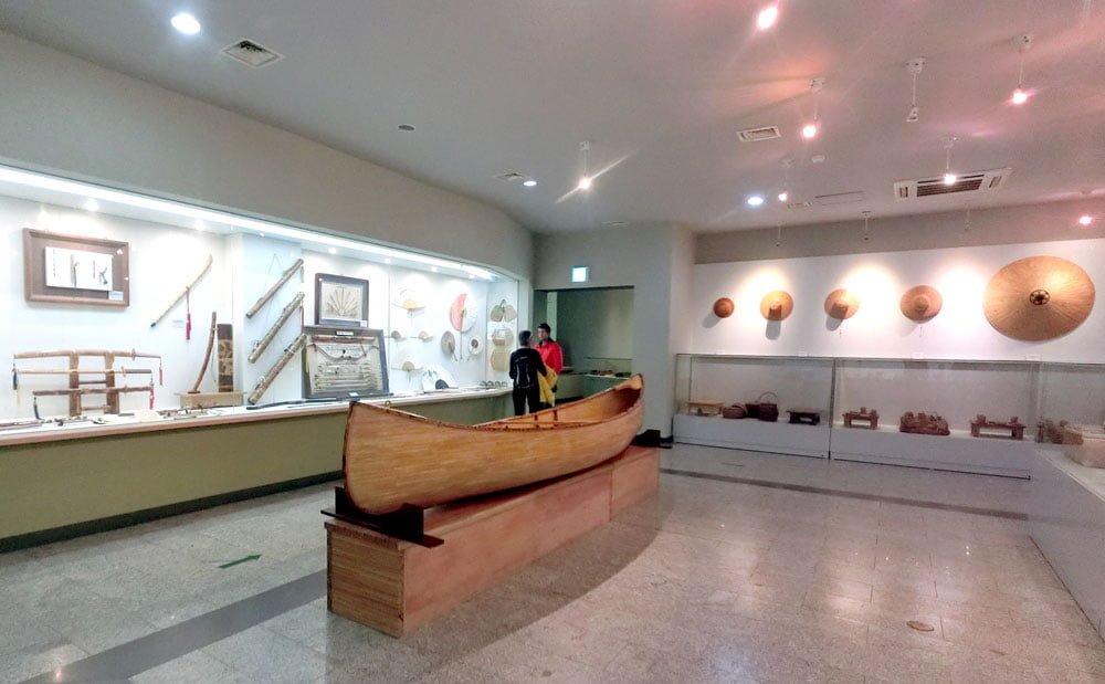 Damyang Korea Bamboo Museum Exhibits