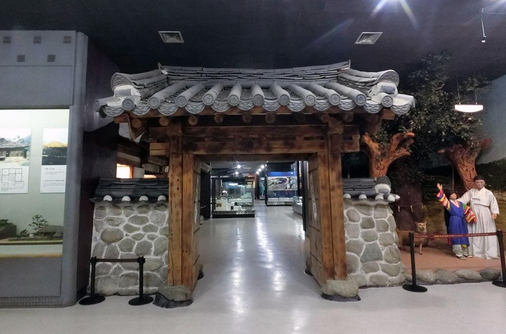 Gwangju Folk Museum Exhibits