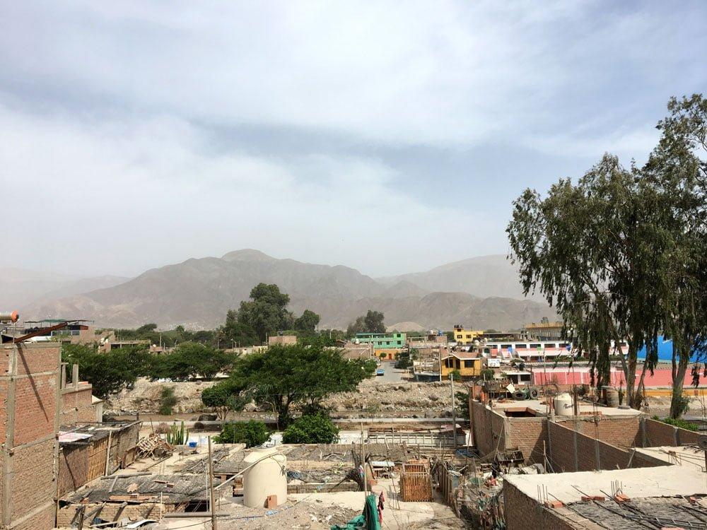 Peru Nazca Nasca Lodge Roof View