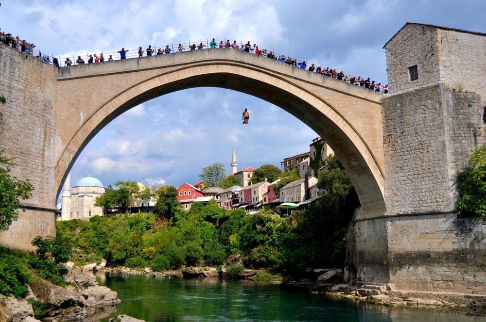 Mostar Stari Most Diving Croatiatipscom
