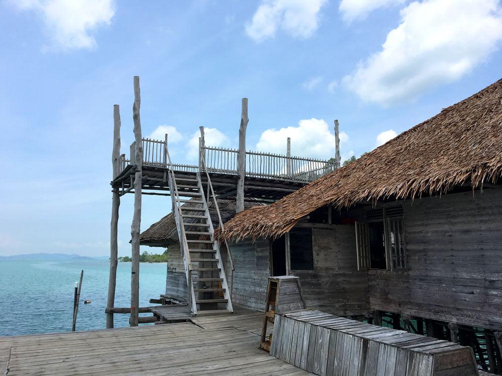 Telunas Beach Resort Front Deck