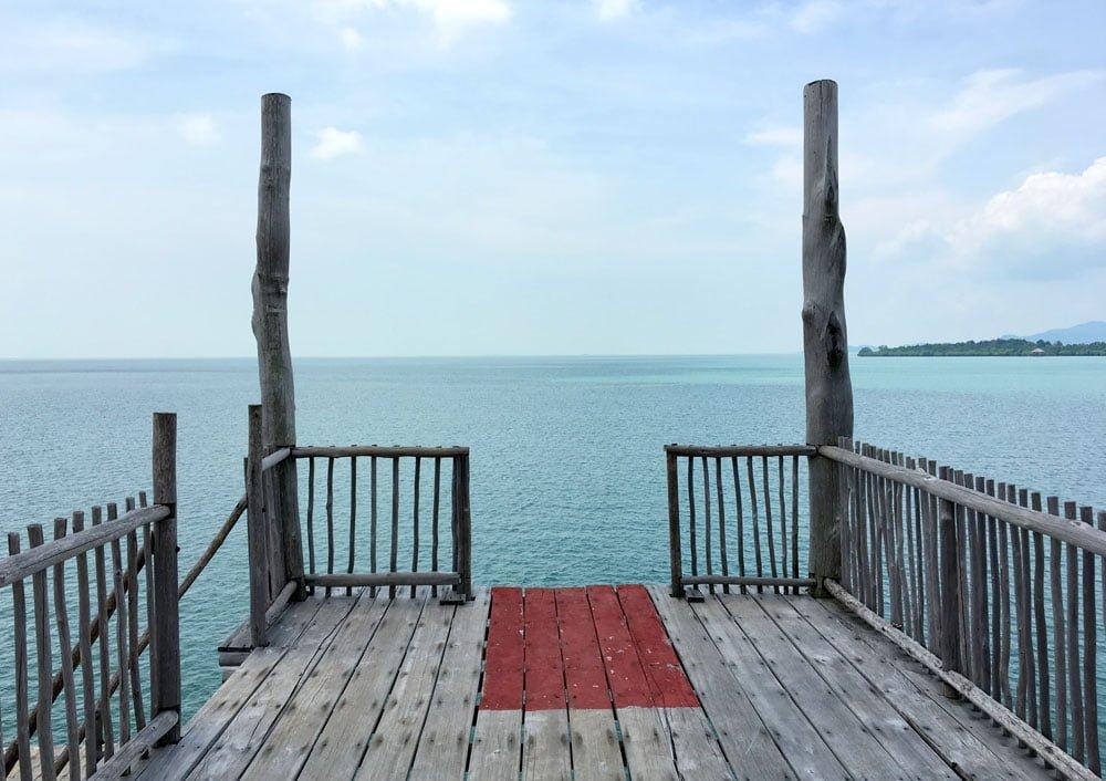 Telunas Beach Resort High Deck Jump