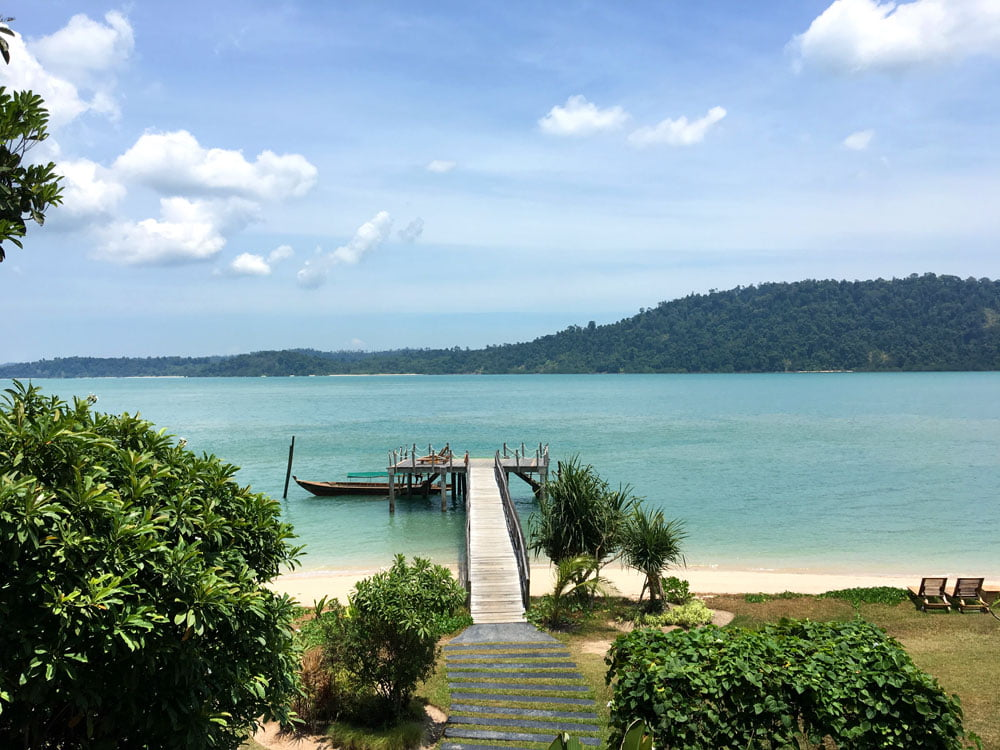 Telunas Private Island Pier