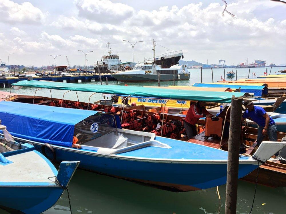 Telunas Resorts Boat