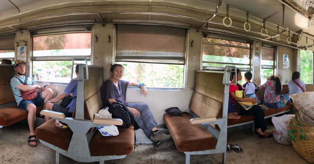 Yangon Circular Train Pano Me