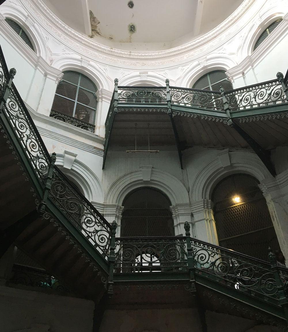 Yangon Secretariat Office Stairs