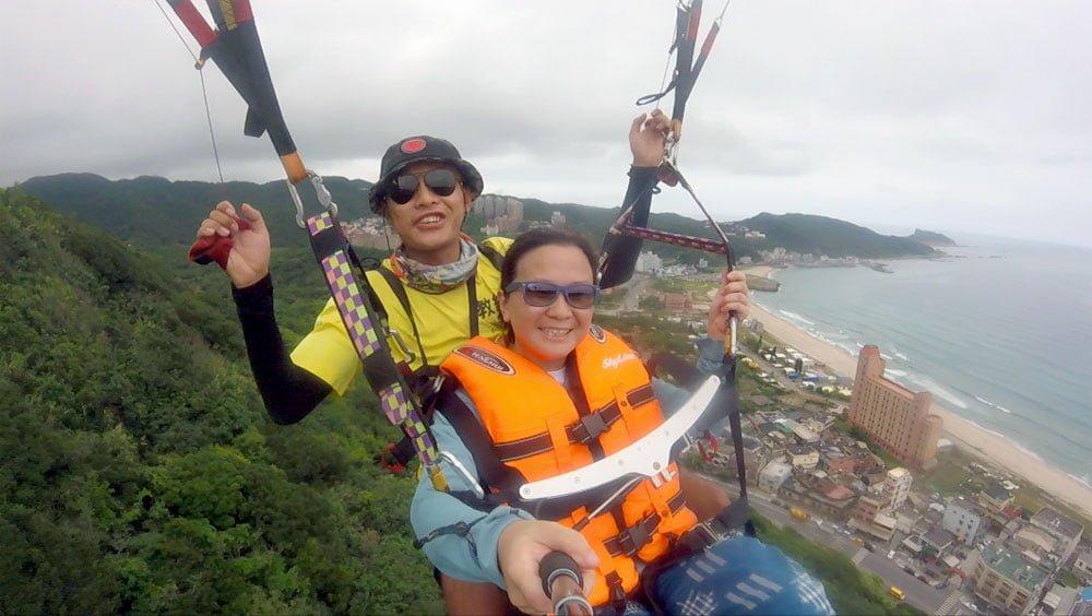 XinTaipei Wanli Paragliding Hill Coast