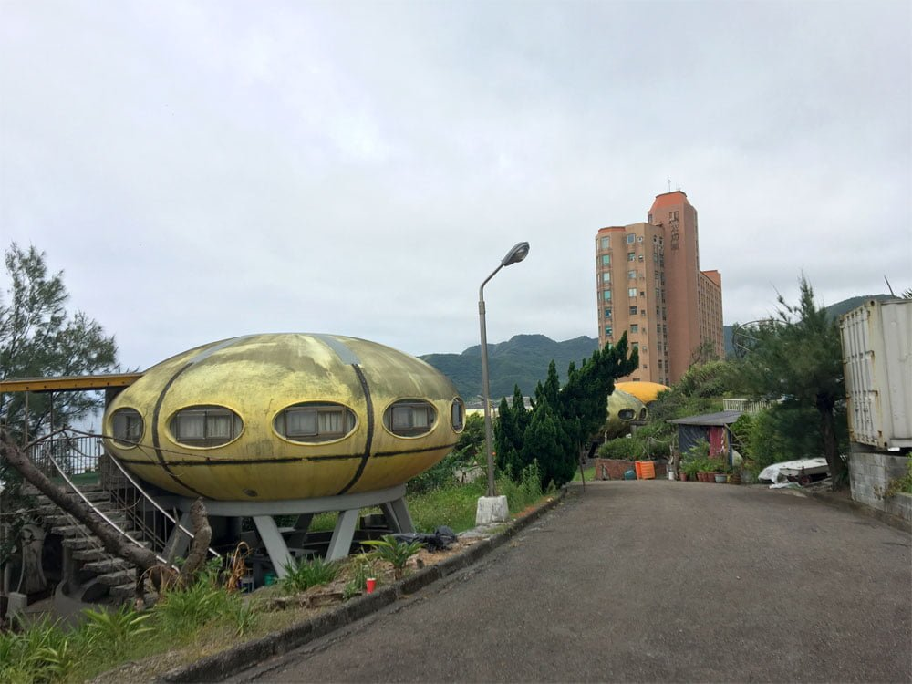 XinTaipei Wanli UFO Village View