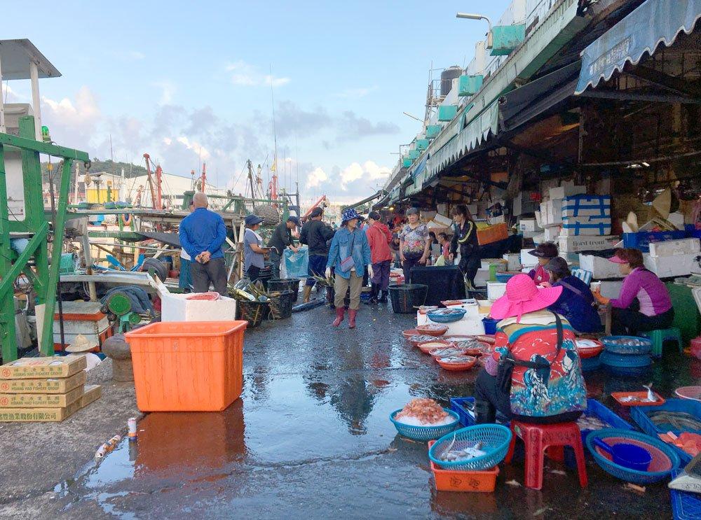 Yilan Nanfangao Nanning Market