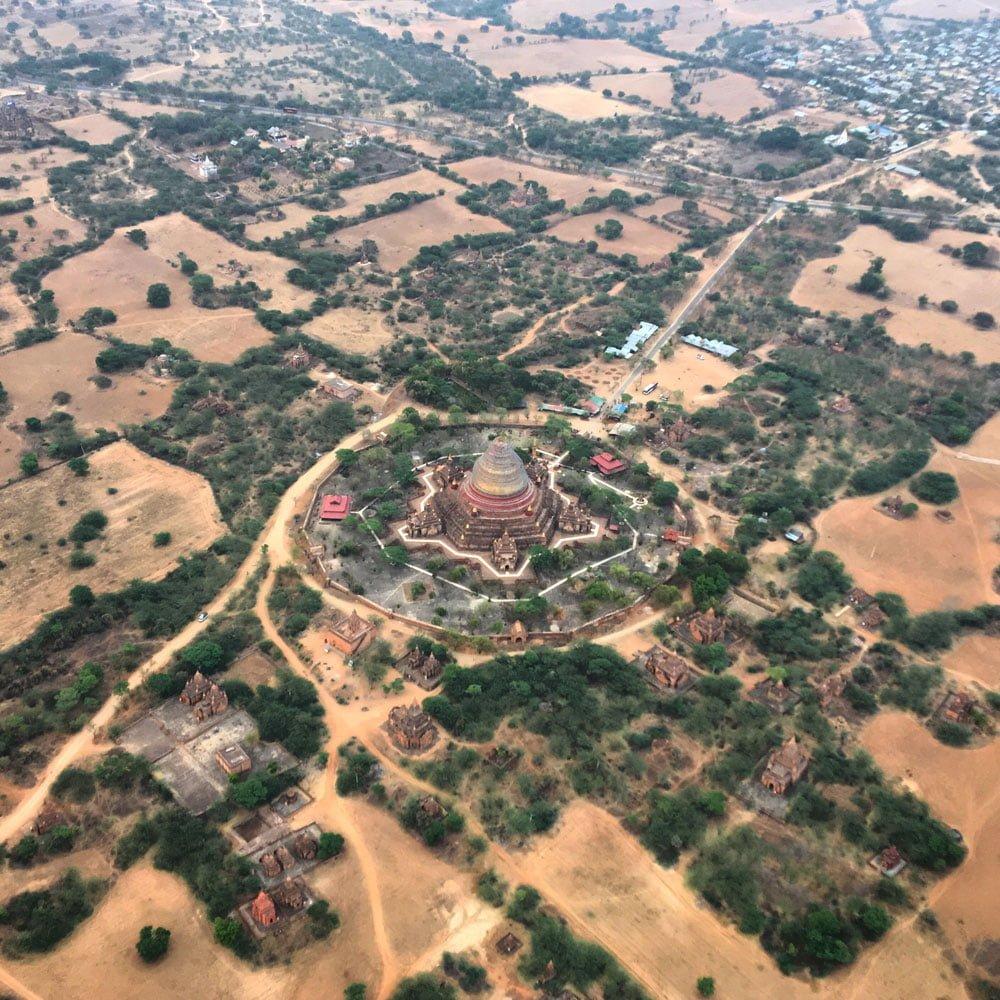 Bagan Ballooning Dhammayangyi Temple