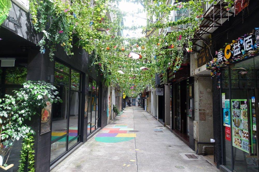 Macao Street Art Patio Chon Sau