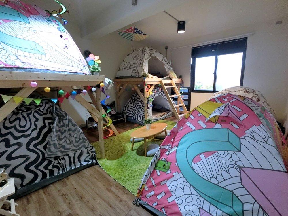 Yilan Inspiration Hostel Tents