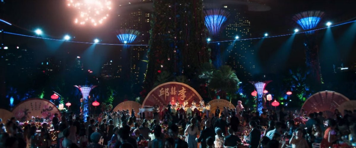 Singapore Crazy Rich Asians Trailer Gardens by the Bay