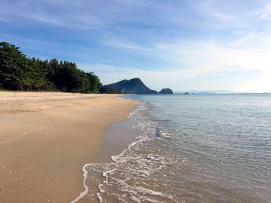 Khanom Beach Sand