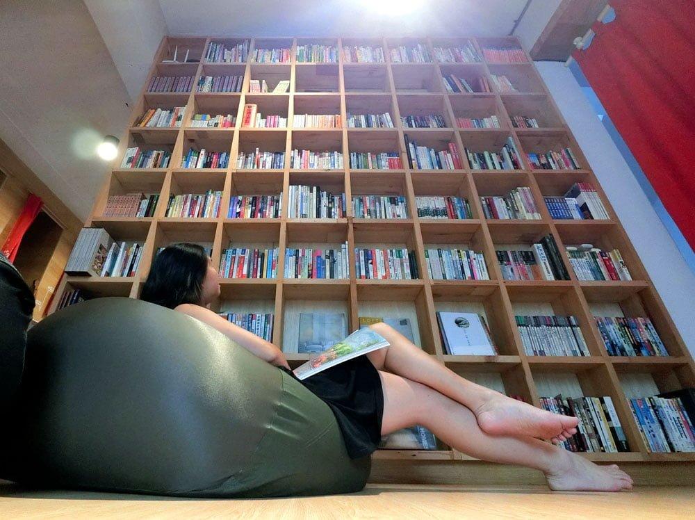 Tainan Caoji Book Inn Room Reading Me