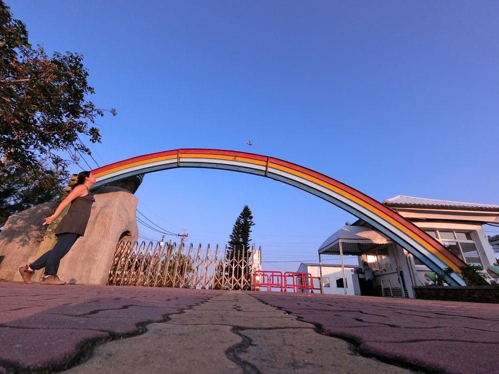 Tainan Vanaheim Entrance Rainbow