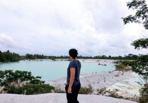 Belitung Kaolin Lake Me