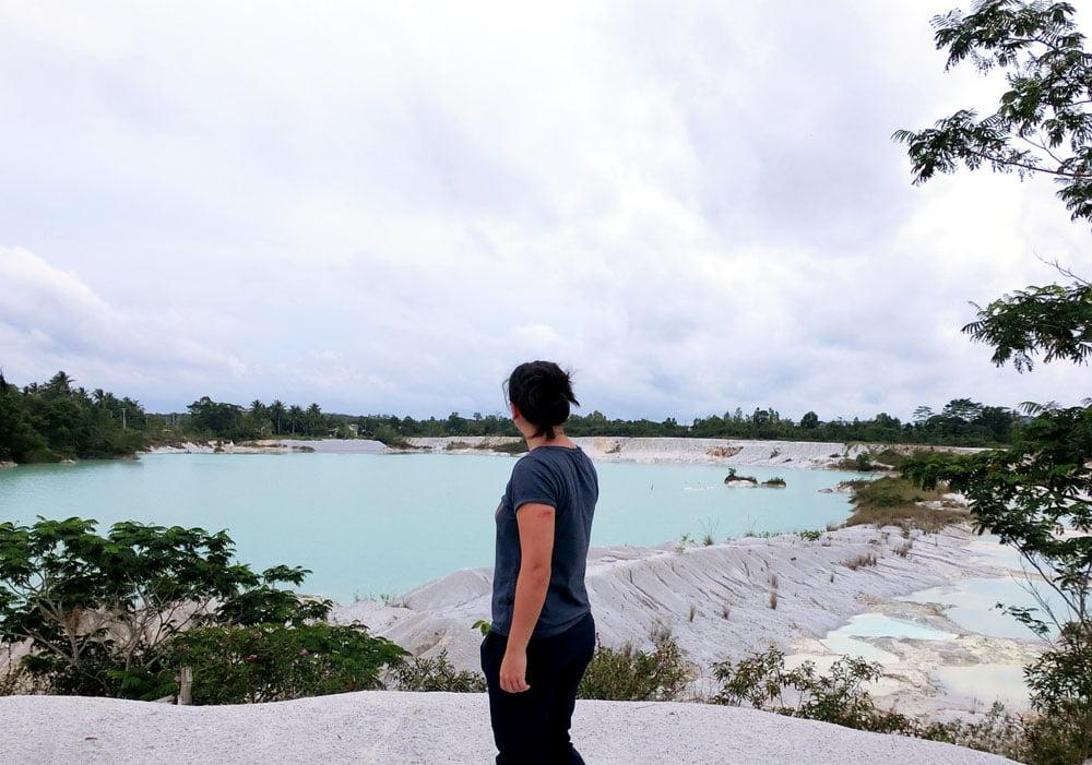 Belitung Kaolin Lake Me