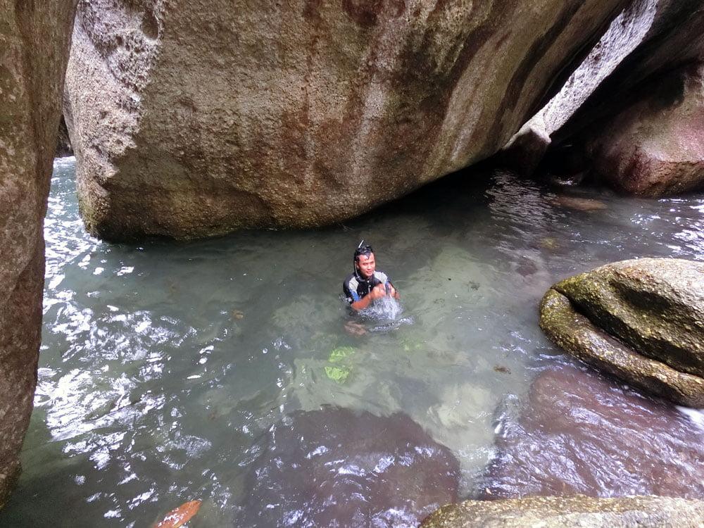 Belitung Kelayang Island Cove Swim