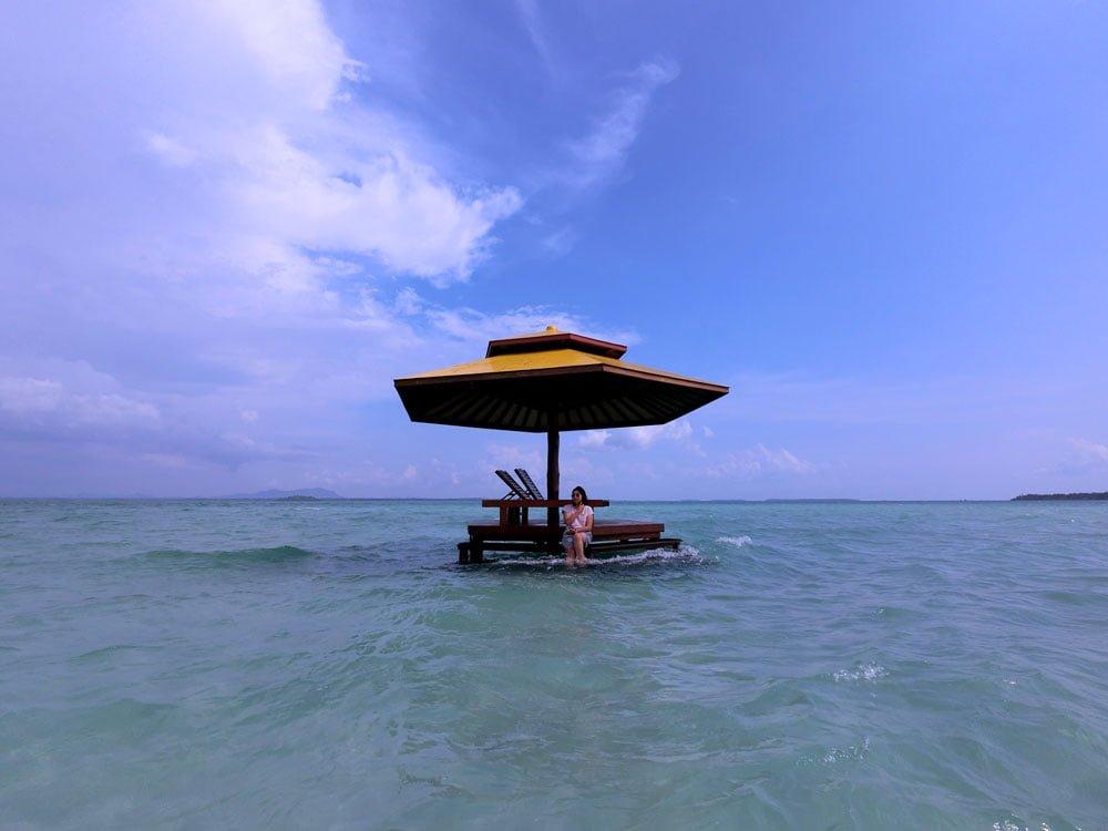 Belitung Leebong Island Hut Sea